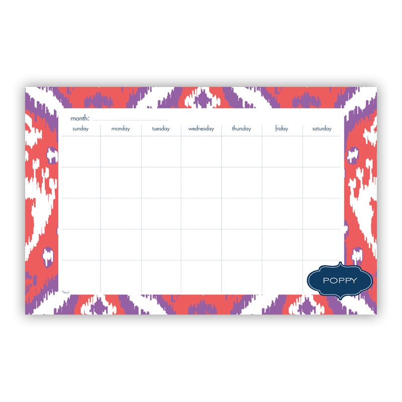 Elsie Personalized Blotter Pad Refill, 25 Page Pad