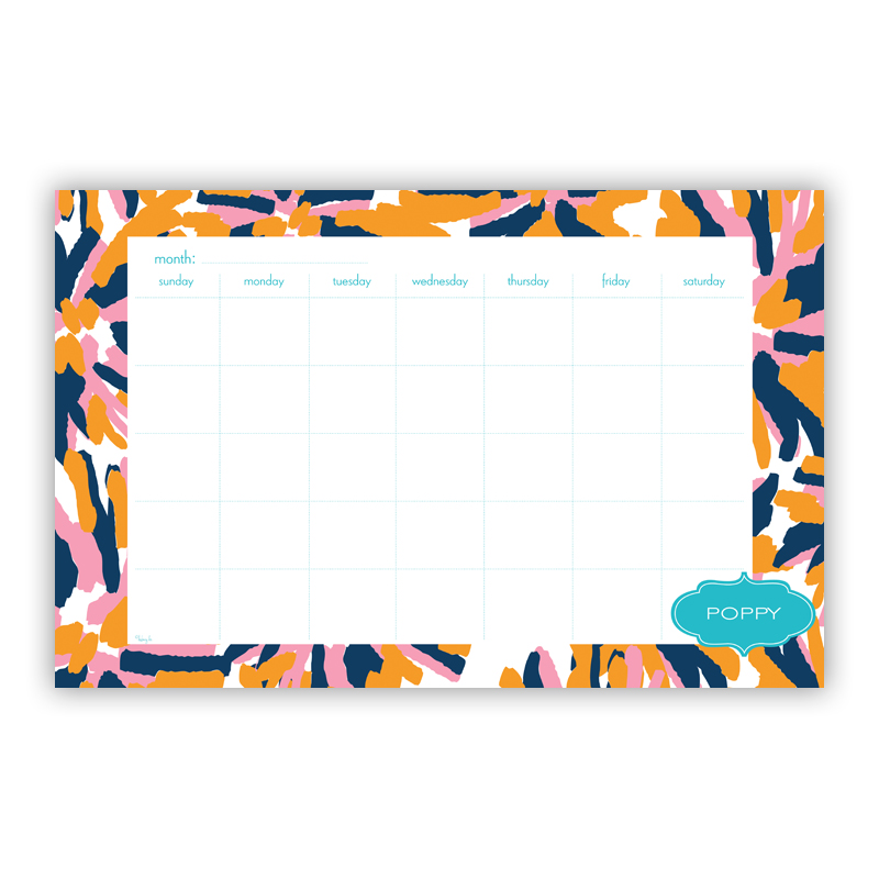 Fireworks Personalized Blotter Pad Refill, 25 Page Pad