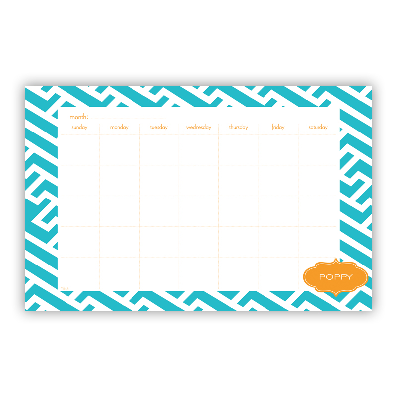Grasshopper Personalized Blotter Pad Refill, 25 Page Pad