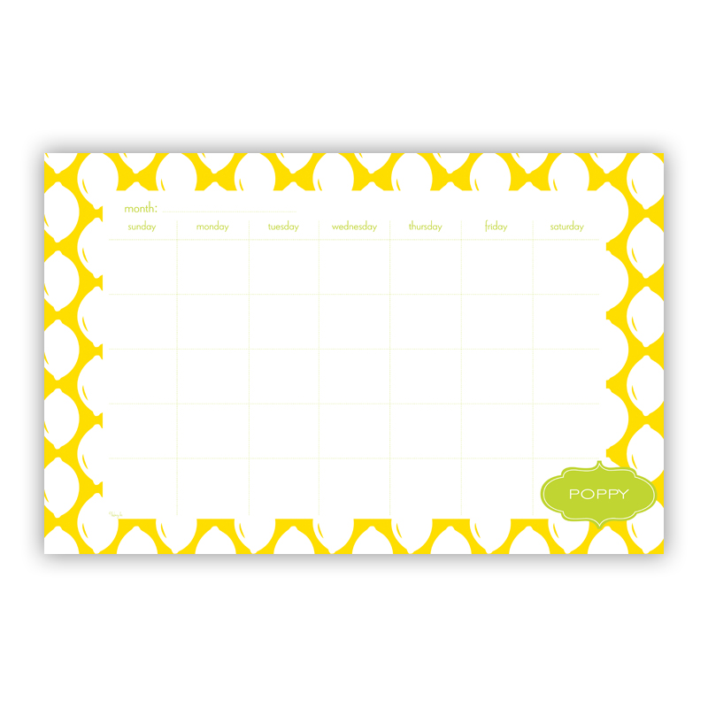 Meyer Personalized Blotter Pad Refill, 25 Page Pad