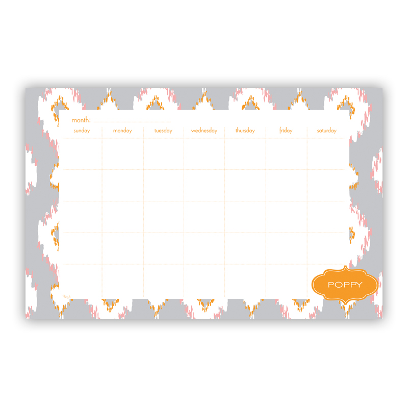 Mirage Personalized Blotter Pad Refill, 25 Page Pad