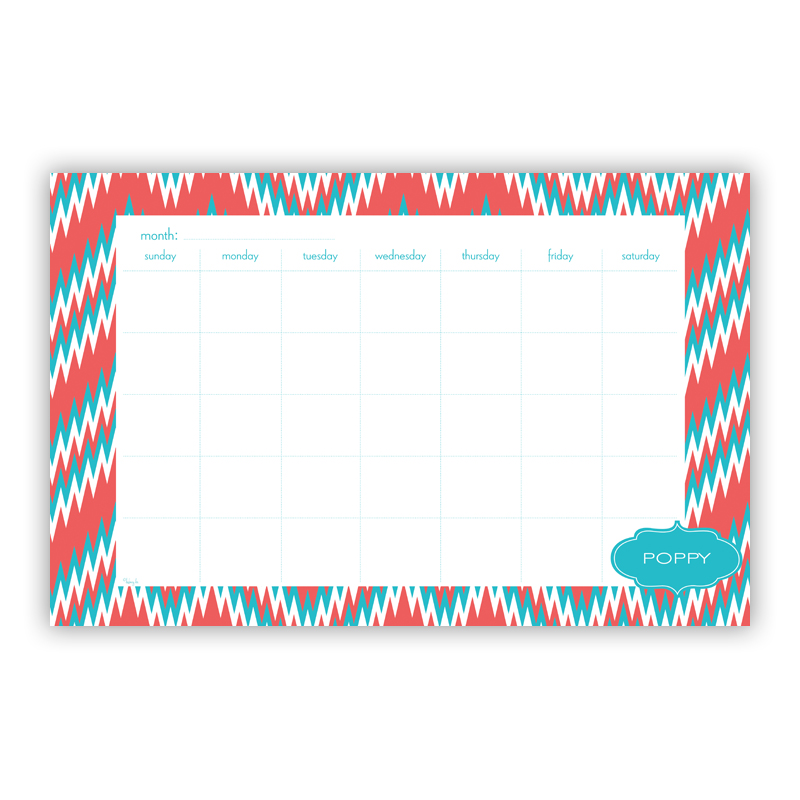 Mission Fabulous Personalized Blotter Pad Refill, 25 Page Pad