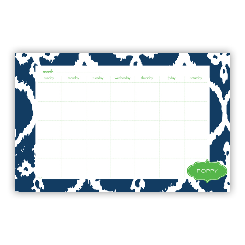 Montauk Personalized Blotter Pad Refill, 25 Page Pad