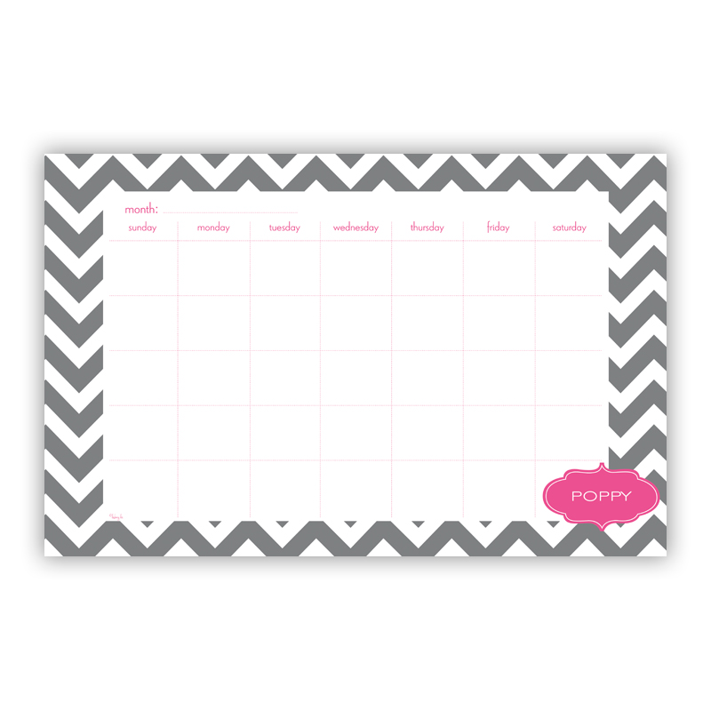 Ollie Personalized Blotter Pad Refill, 25 Page Pad