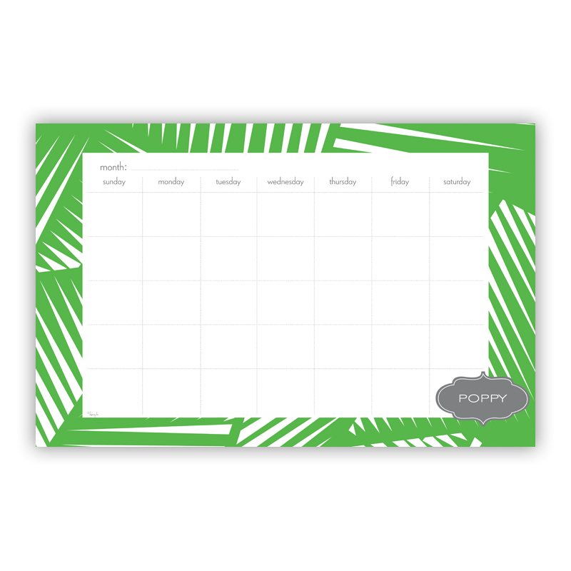 Palm Personalized Blotter Pad Refill, 25 Page Pad