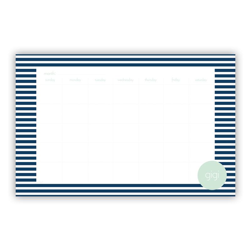 Cabana 3 Personalized Blotter Pad Refill, 25 Page Pad