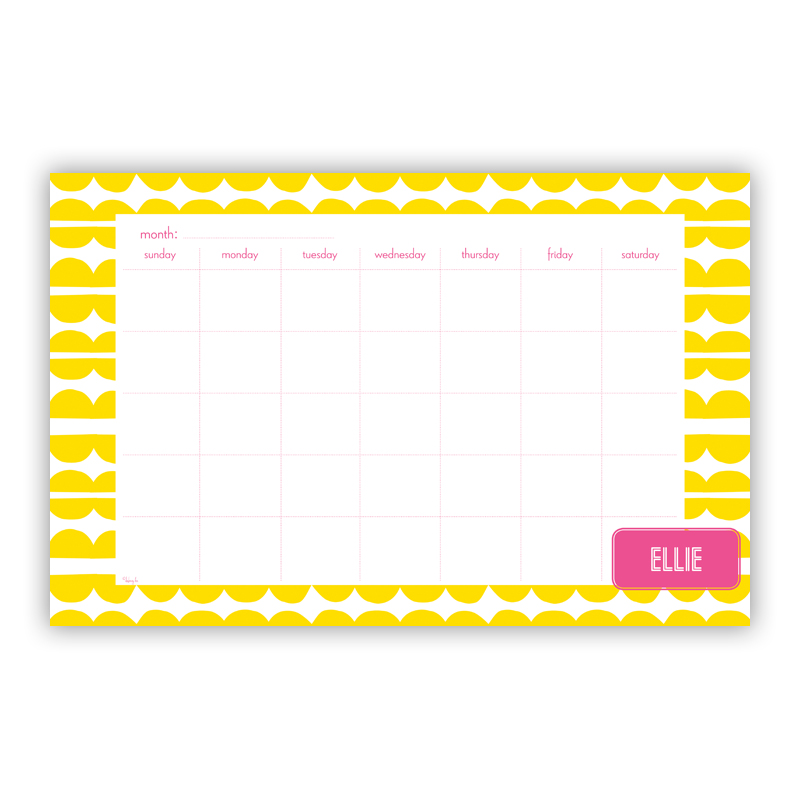 Caterpillar Personalized Blotter Pad Refill, 25 Page Pad