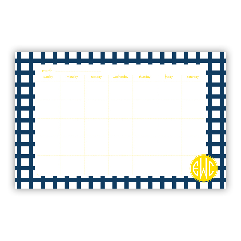 Checks & Balances Personalized Blotter Pad Refill, 25 Page Pad