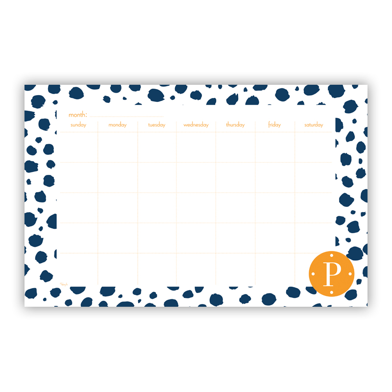 Cheetah Personalized Blotter Pad Refill, 25 Page Pad