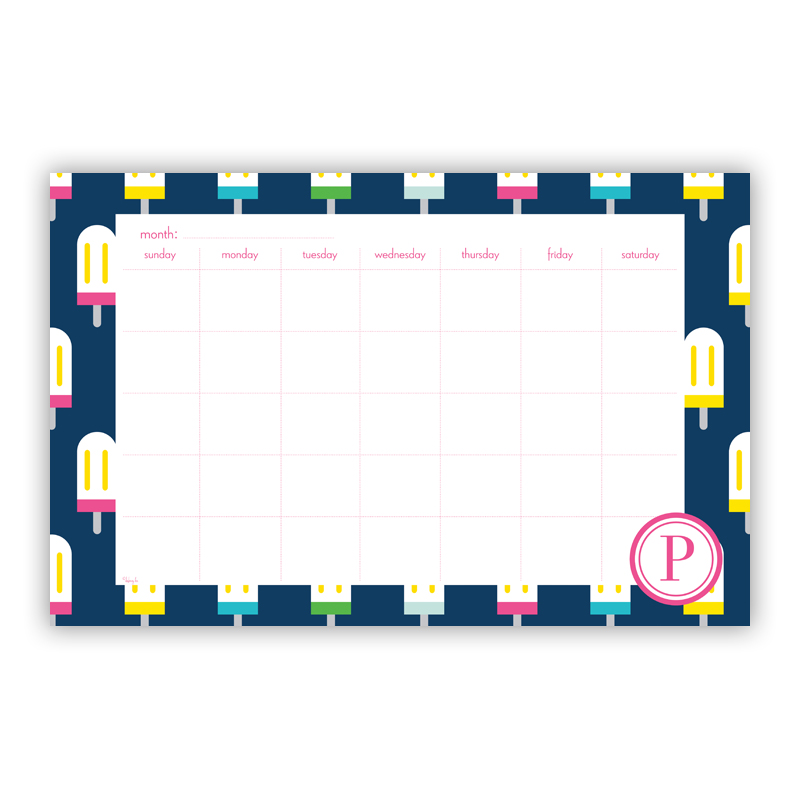 Let's Pop Personalized Blotter Pad Refill, 25 Page Pad