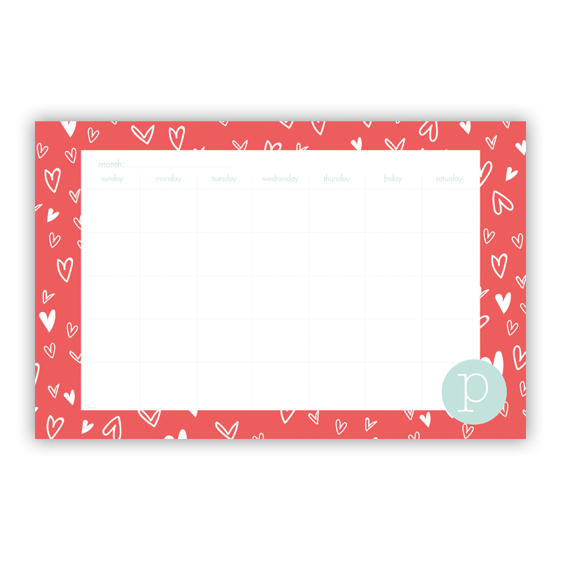 Love It Personalized Blotter Pad Refill, 25 Page Pad