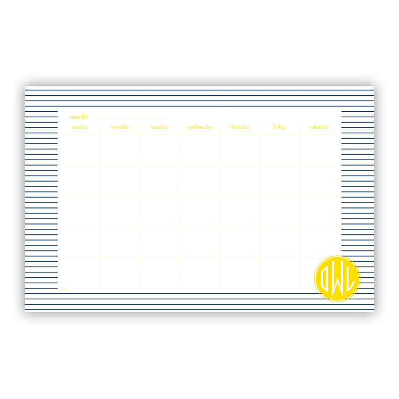 Pinny Personalized Blotter Pad Refill, 25 Page Pad