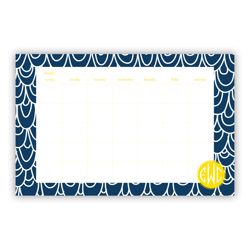 Top Deck Personalized Blotter Pad Refill, 25 Page Pad