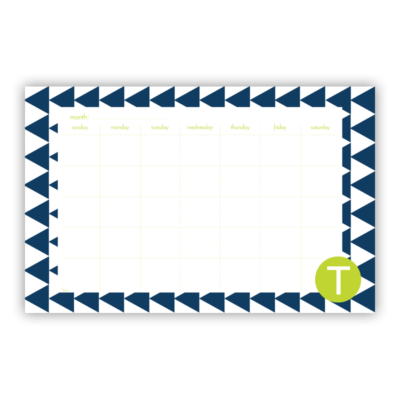 Try Me Personalized Blotter Pad Refill, 25 Page Pad