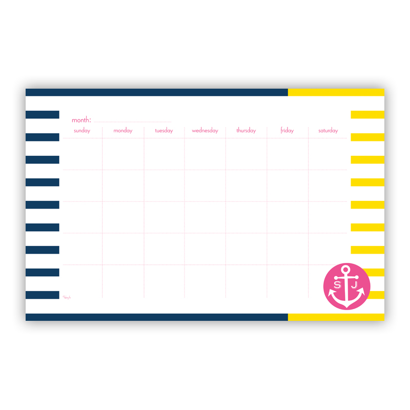 Twice As Nice Personalized Blotter Pad Refill, 25 Page Pad