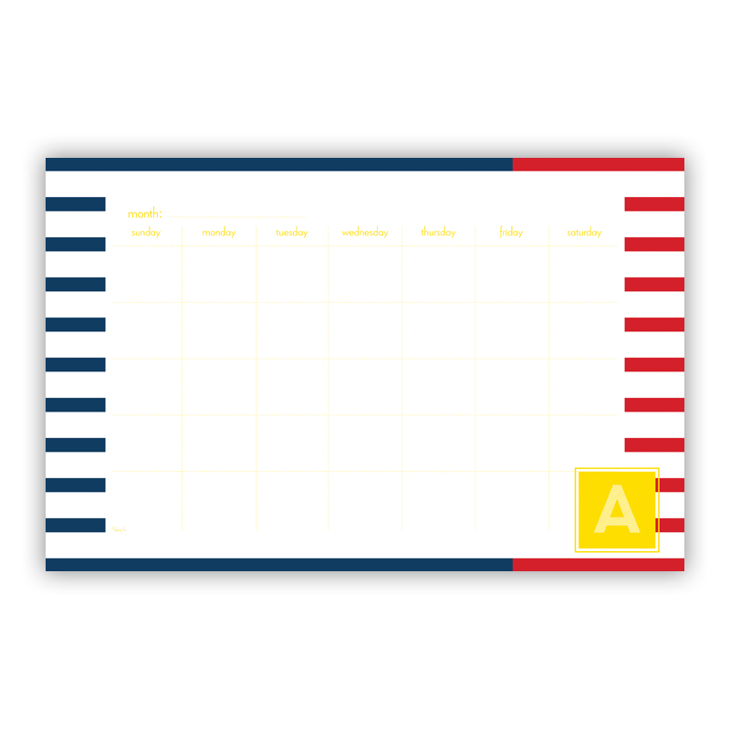 Twice As Nice 2 Personalized Blotter Pad Refill, 25 Page Pad