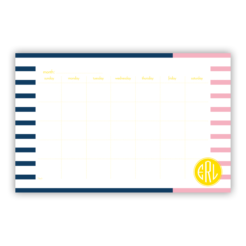 Twice As Nice 3 Personalized Blotter Pad Refill, 25 Page Pad
