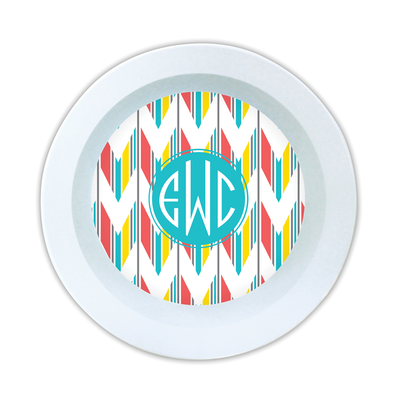 Arrowhead Personalized Melamine Bowl