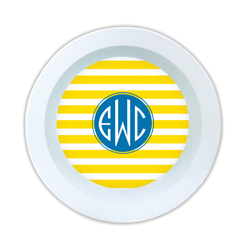 Cabana Personalized Melamine Bowl