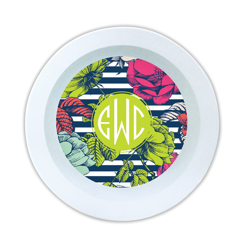 Millie Personalized Melamine Bowl