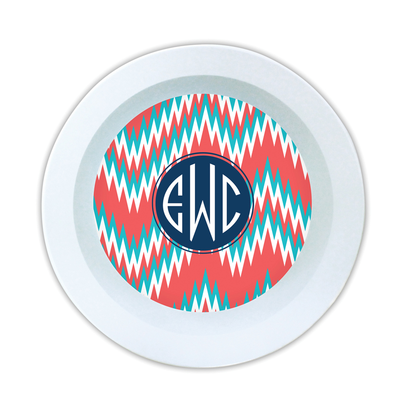 Mission Fabulous Personalized Melamine Bowl
