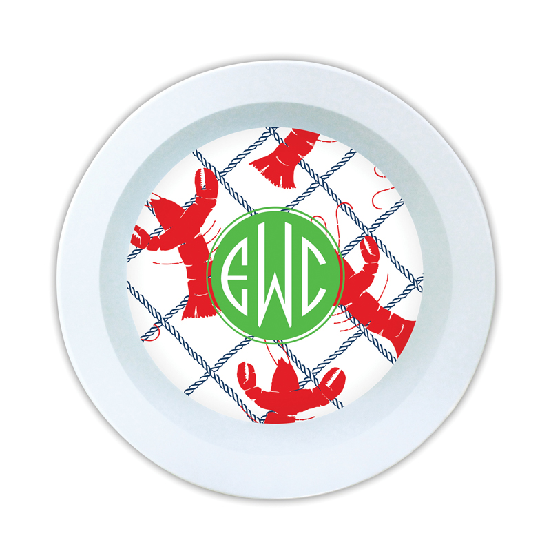 Rock Lobster Personalized Melamine Bowl