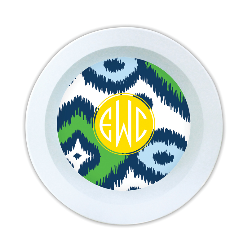 Sunset Beach Personalized Melamine Bowl