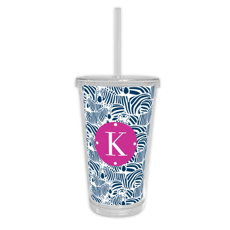 Bruno Personalized Cold Tumbler with Straw