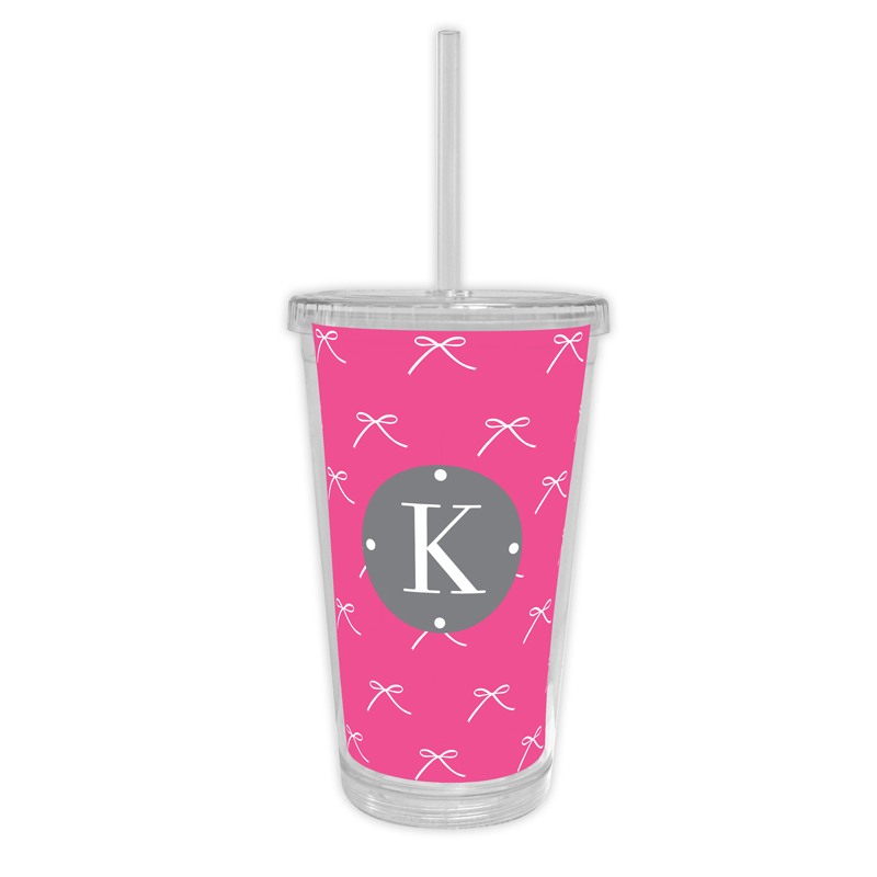 Chloe Personalized Cold Tumbler with Straw
