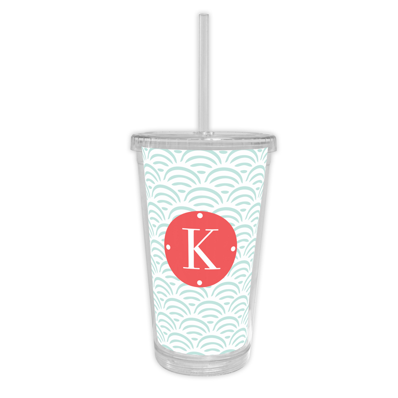 Ella Personalized Cold Tumbler with Straw