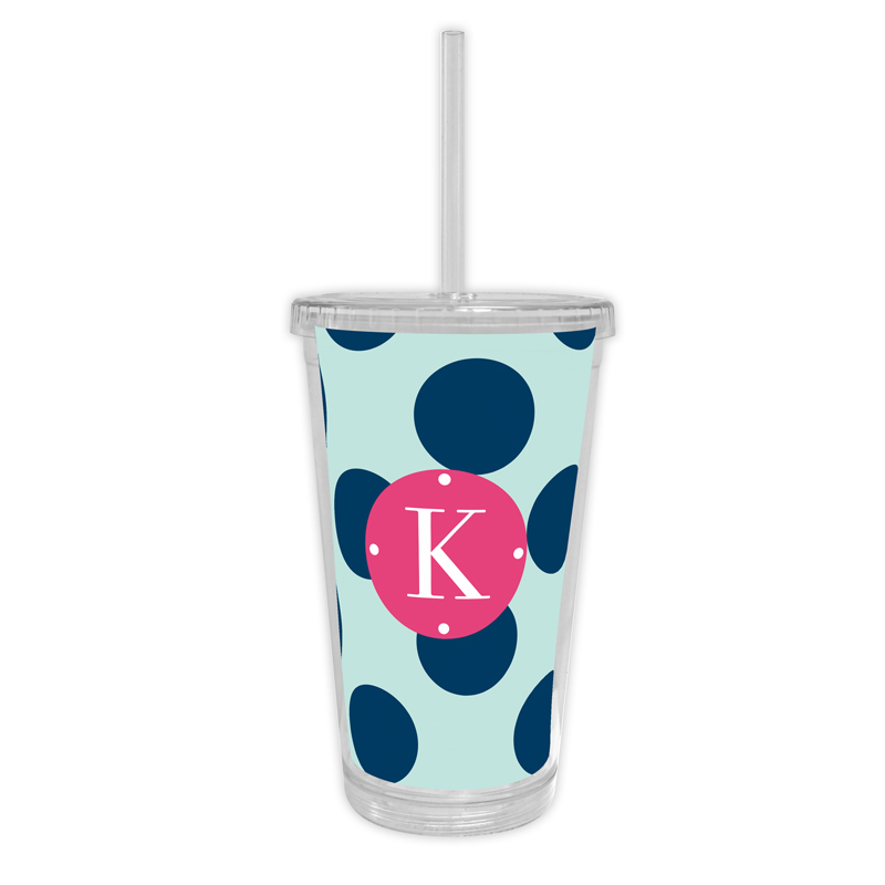 Jane Personalized Cold Tumbler with Straw
