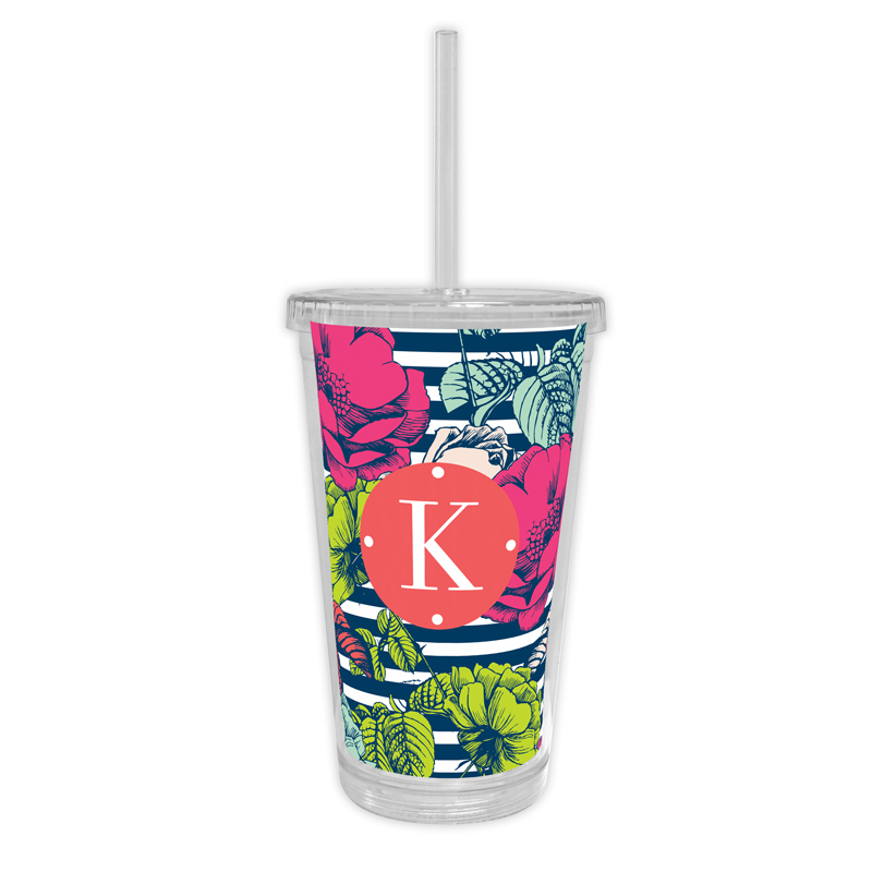 Millie Personalized Cold Tumbler with Straw