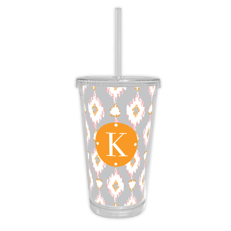 Mirage Personalized Cold Tumbler with Straw