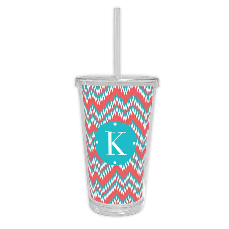 Mission Fabulous Personalized Cold Tumbler with Straw