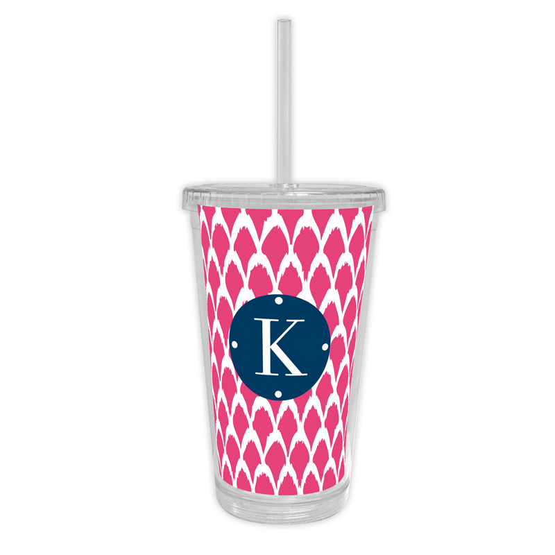 Northfork Personalized Cold Tumbler with Straw