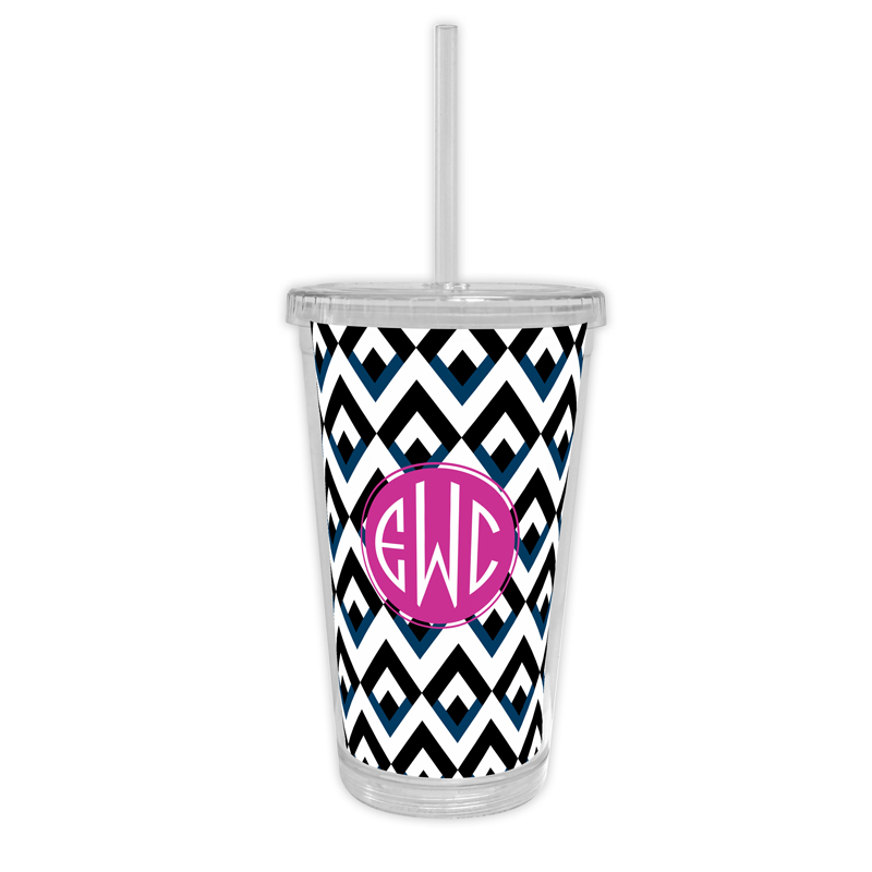 Remi Personalized Cold Tumbler with Straw