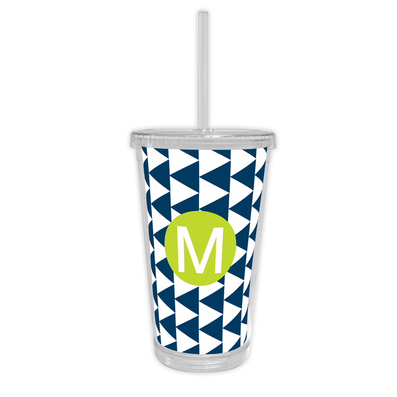 Try Me Personalized Cold Tumbler with Straw