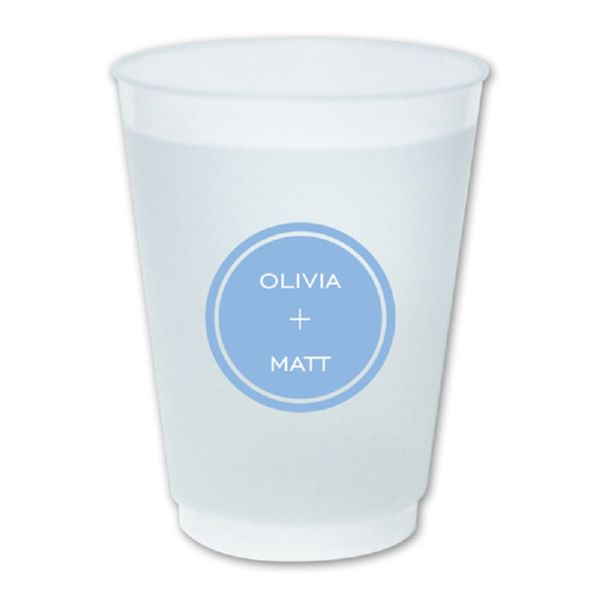 Design Your Own Personalized Frost-Flex 16 oz. Plastic Cup (50)