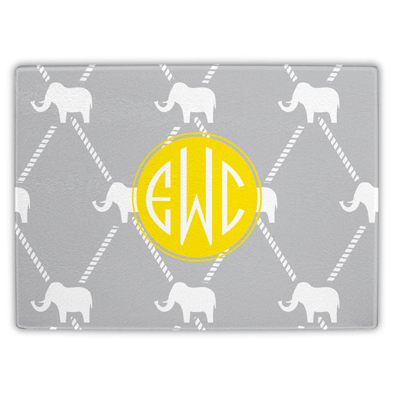 Dumbo Personalized Glass Cutting Board