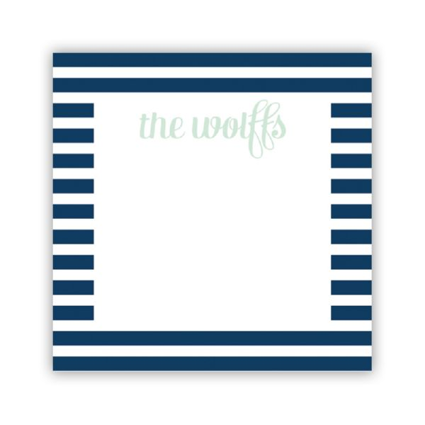 Cabana 3 Personalized Calling Card / Enclosure Card (25)