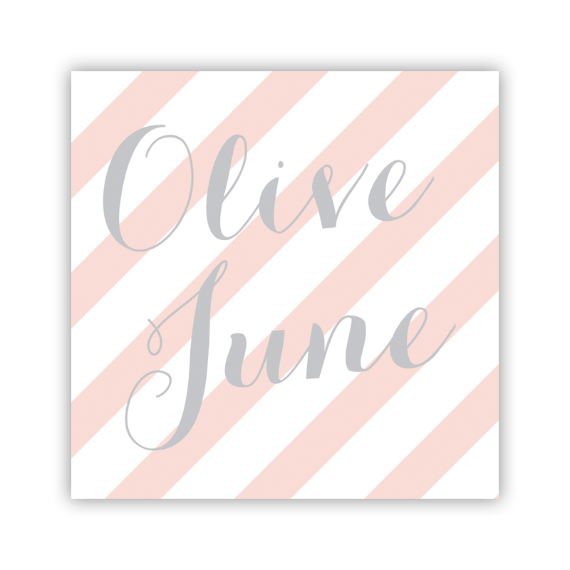 Beach Club 3 Personalized Calling Card / Enclosure Card (25)