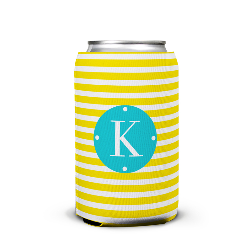 Cabana Personalized Can Koozie