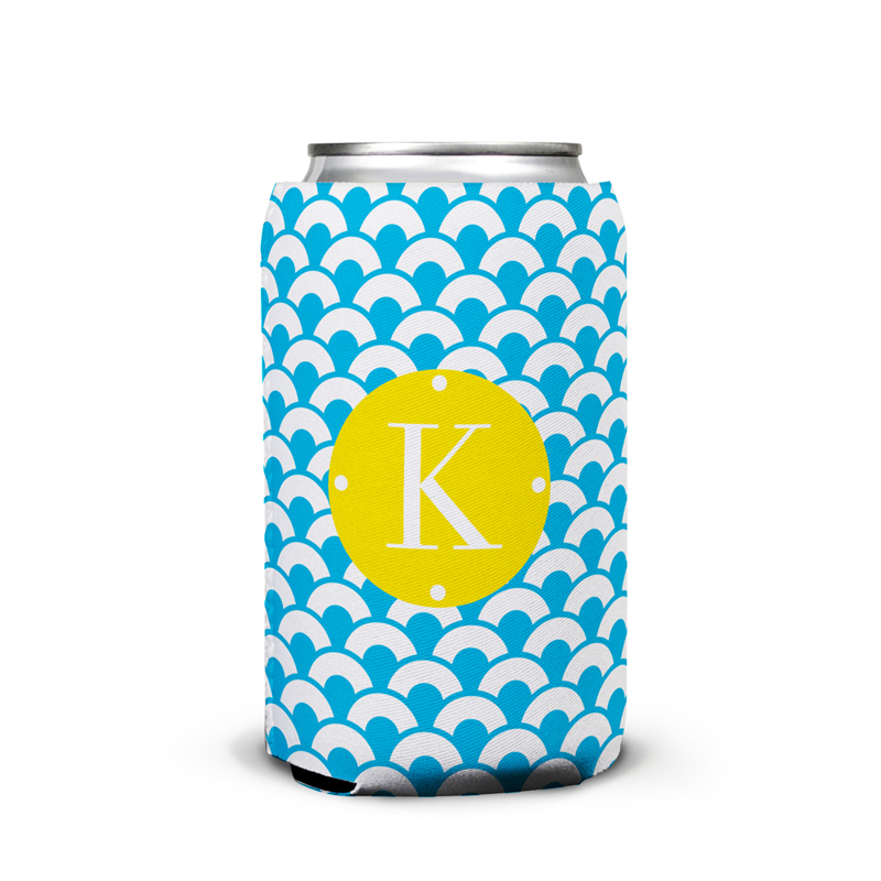 Coins Personalized Can Koozie