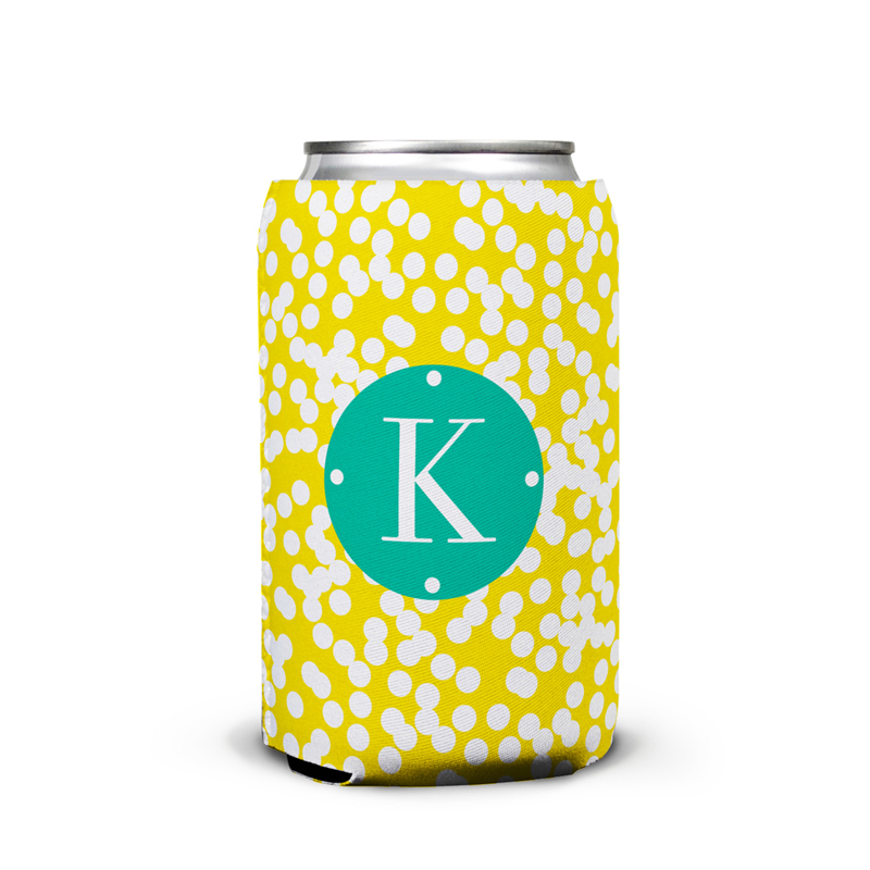 Hole Punch Personalized Can Koozie
