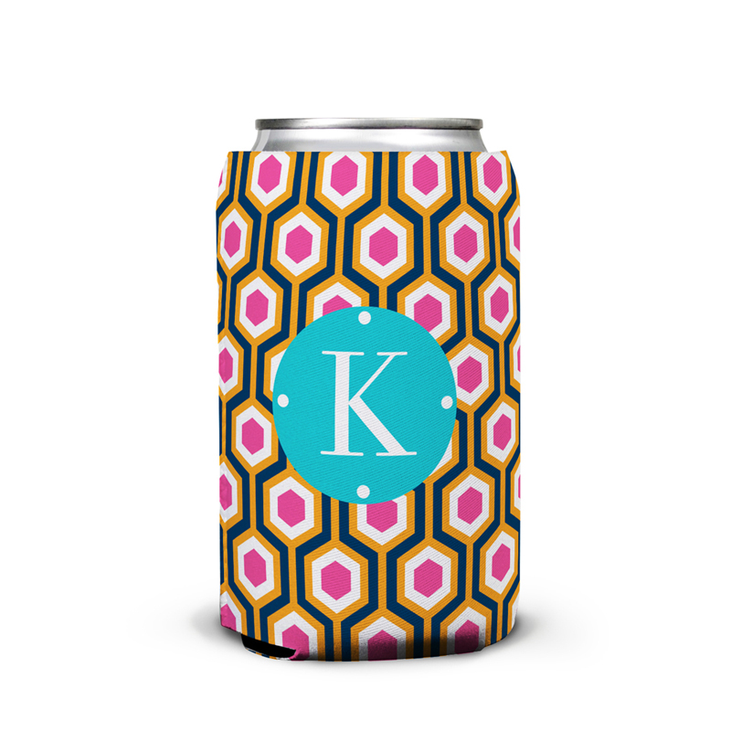 London Calling Personalized Can Koozie