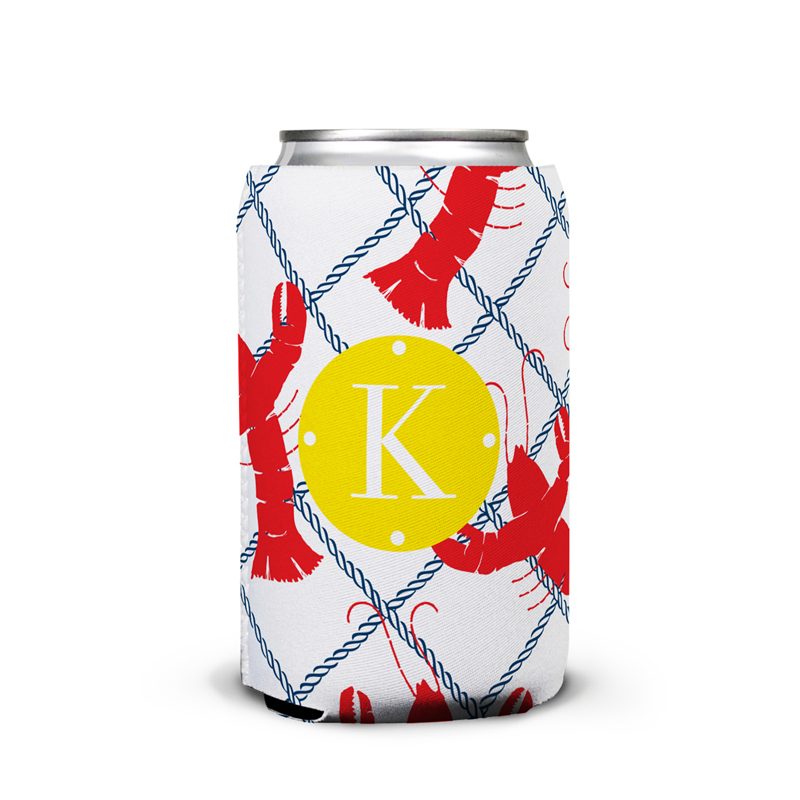 Rock Lobster Personalized Can Koozie