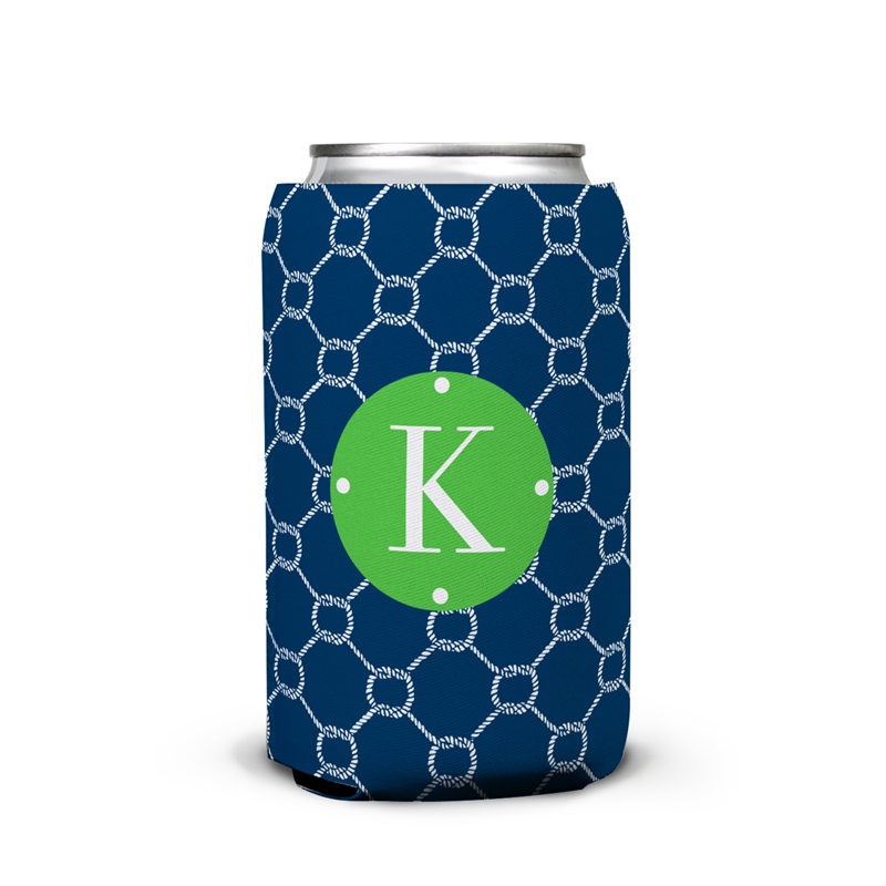 Rope Personalized Can Koozie