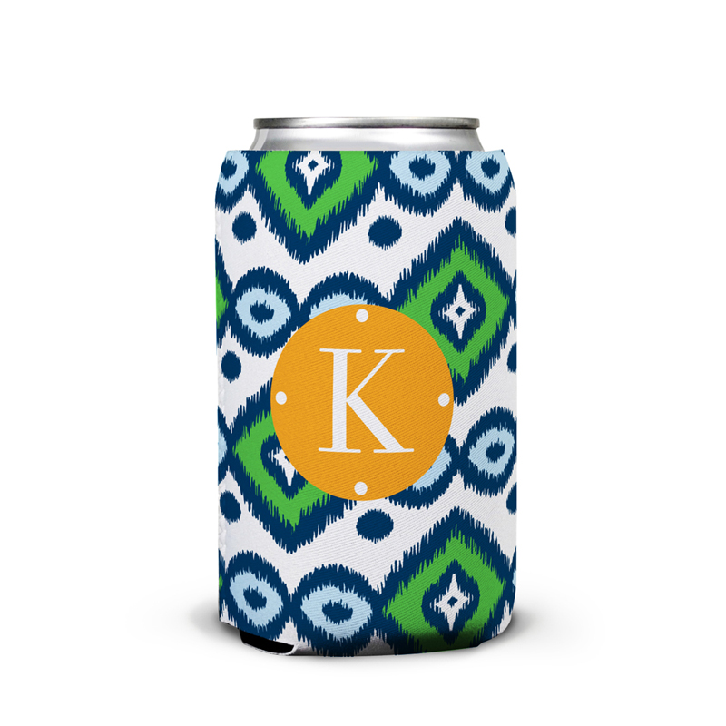 Sunset Beach Personalized Can Koozie