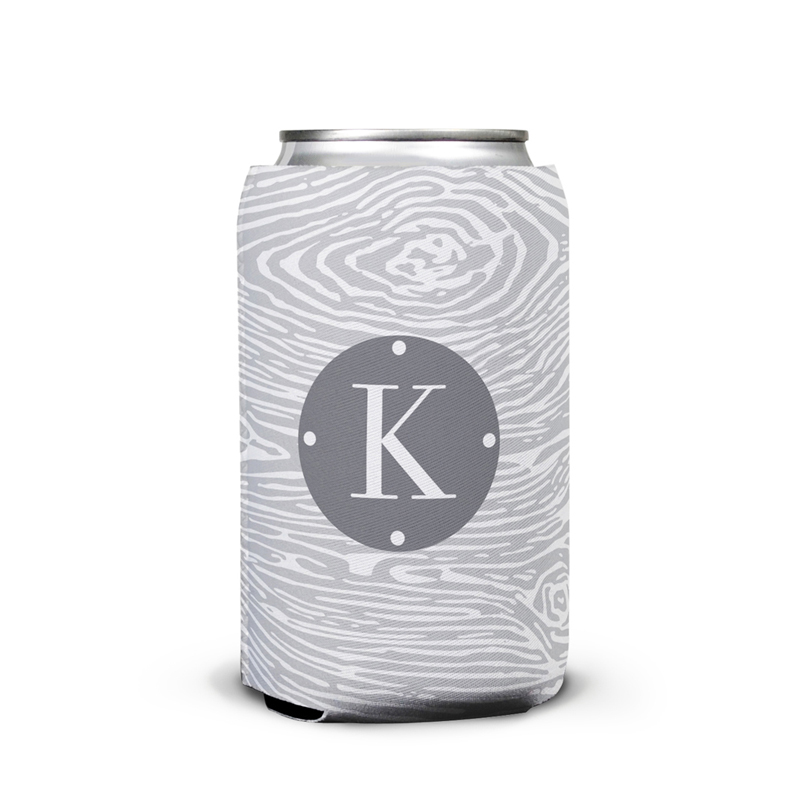 Varnish Personalized Can Koozie