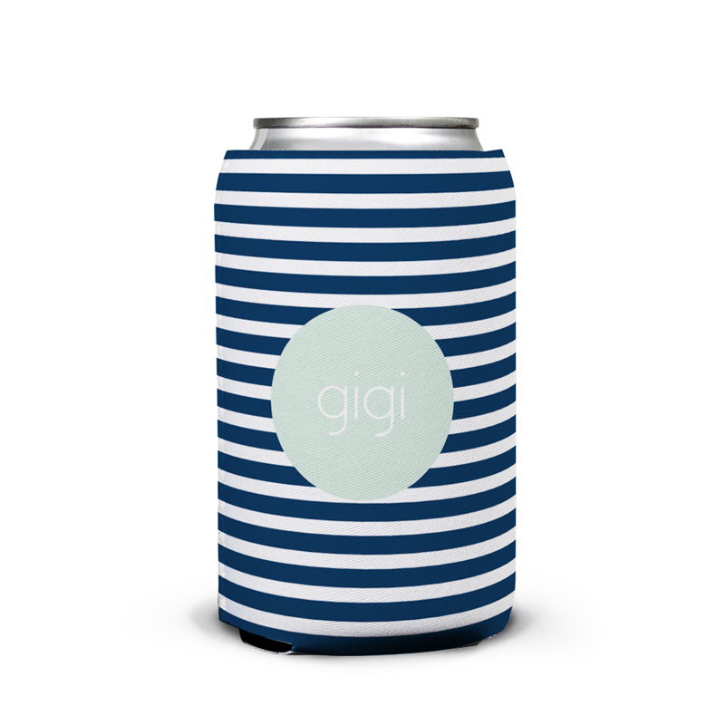 Cabana 3 Personalized Can Koozie